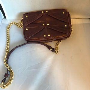 Badgley Mischka crossbody leather mini bag